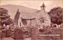 old church, betws-y-coed