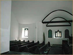 inside restored church