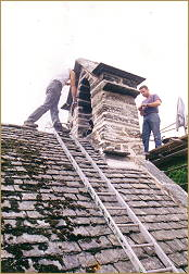 st michaels church betws-y-coed restoration work